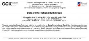 Zaproszenie Bardaf